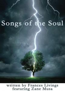 grey sky, dark clouds, tree being struck by lightning songs of the soul