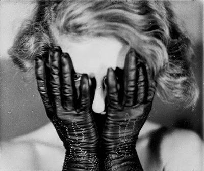 """black and white photo"" ""gloves"""