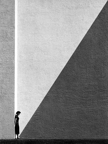 Fan Ho_woman in the shadows