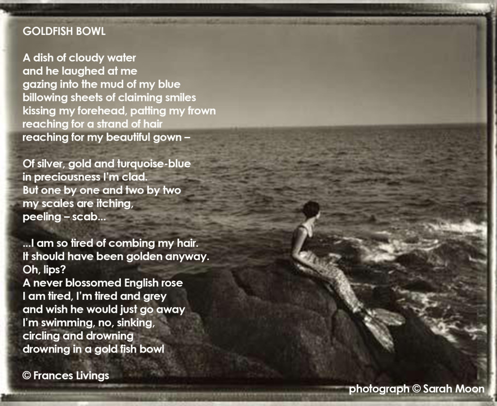POEM_Frances-Livings_Goldfish-Bowl_photo-Sarah-Moon_Mermaid