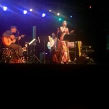 Frances Livings Ipanema Lounge Miles Memorial Playhouse July 2015