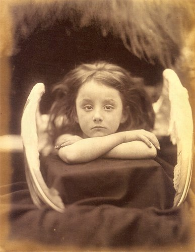 Julia Margaret Cameron, Angel, 1872