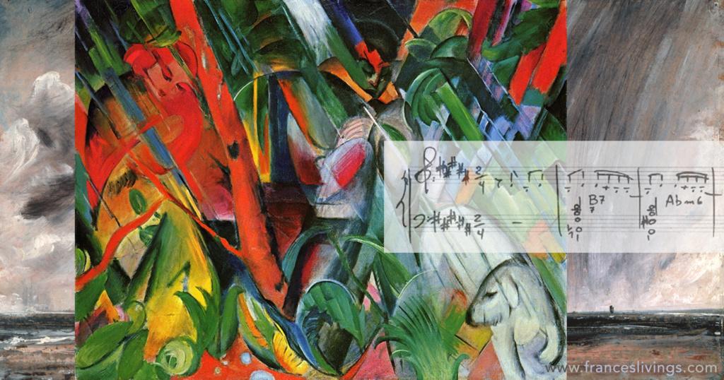 Franz Marc John Constable Rain Storm Score Tom Jobim