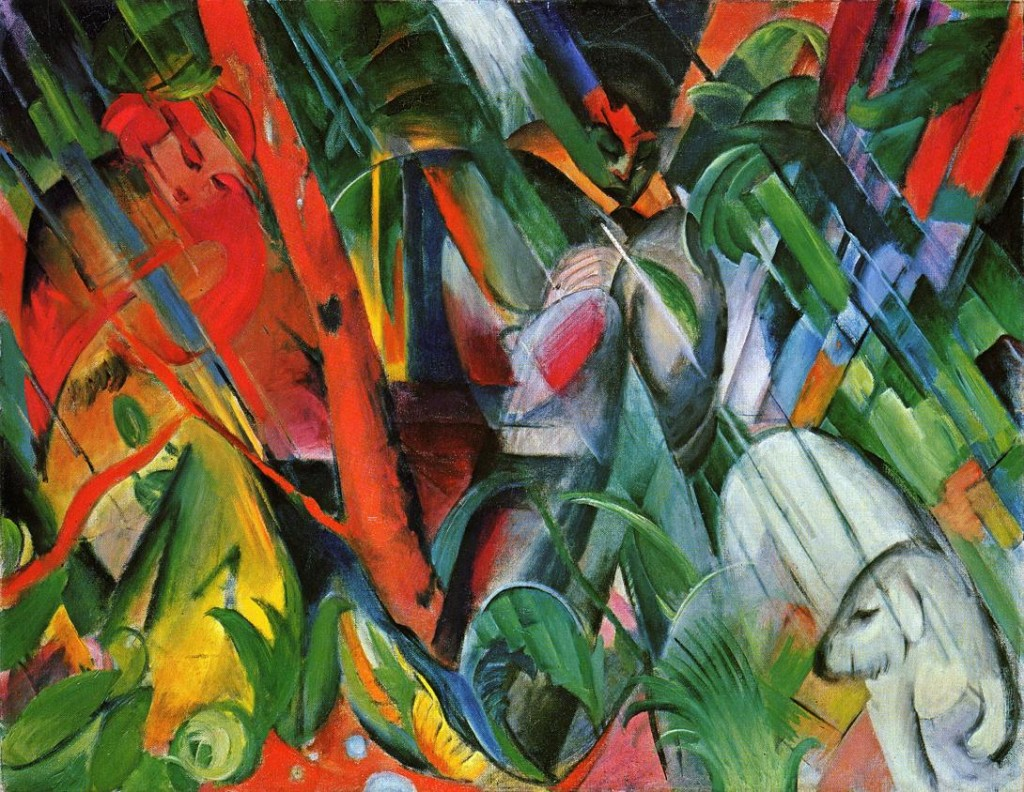 Franz Marc, In the Rain, 1912