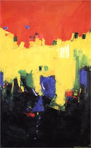 Hans Hofmann, Above Deep Waters, 1959