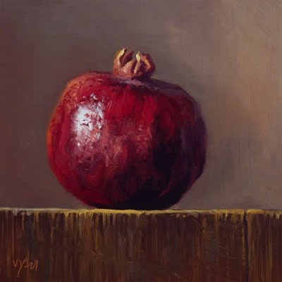 © Abbey Ryan, Pomegranate in Early Morning Light, 2009
