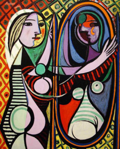 Pablo-Picasso-Girl-Before-A Mirror-1932-Aganju